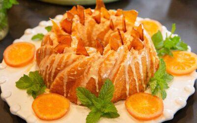 Harvey Wallbanger Poke Cake