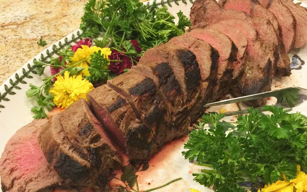 Marinated Flank Steak or Beef Tenderloin